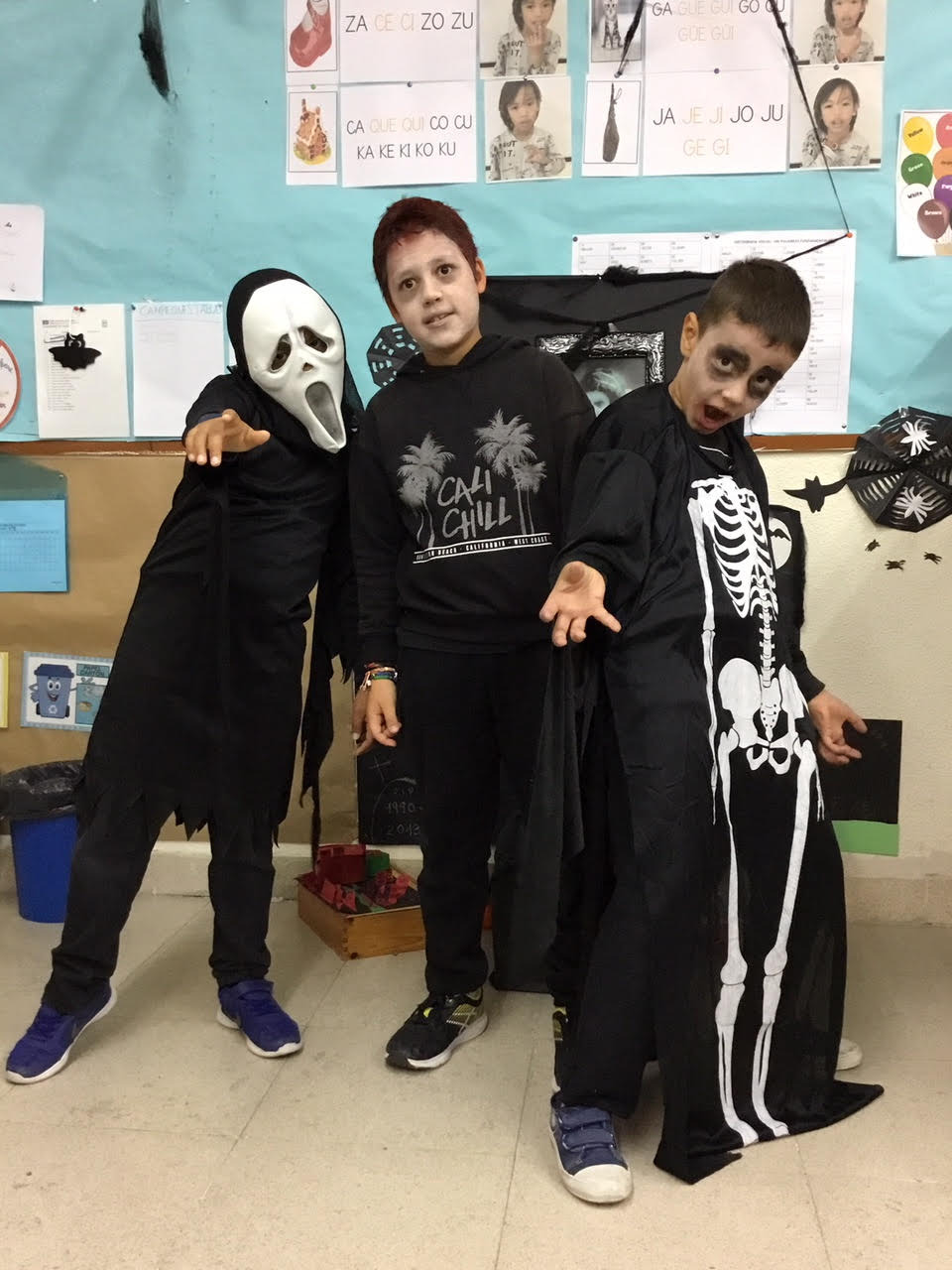 2018_10_31_Cuarto B disfruta en Halloween_CEIP FDLR_Las Rozas 3