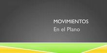 Movimientos  en el plano