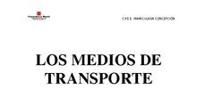 Dosier Transportes. Nivel alto
