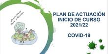 Presentación plan autoprotección frente al Covid 19 2021-2022