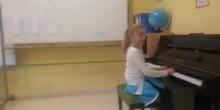 Actuación de piano