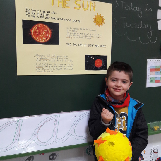 Our Solar System is at School 17