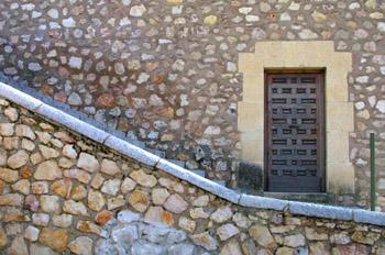 Detalle escalerillas del Gallo, Cuenca
