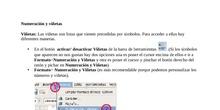 Numeración y Viñetas en Libreoffice Writer