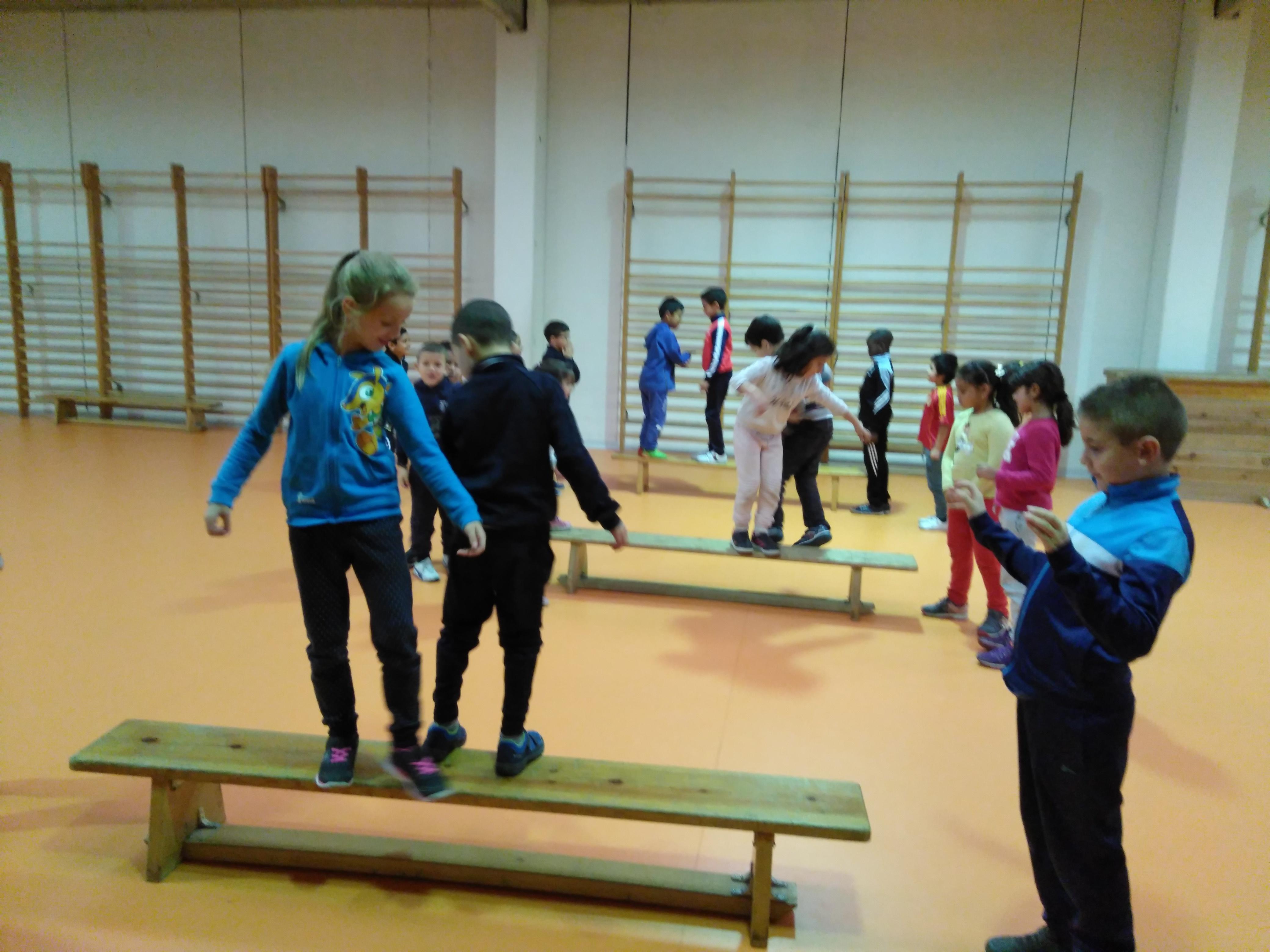 Convivencia en Educación física 2