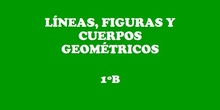 Líneas, figuras y cuerpos geométricos 1º