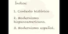 SECUNDARIA. 4º ESO. EL MODERNISMO. LENGUA Y LITERATURA. ANA TORRES.