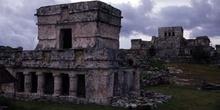Templo de los Frescos y El Castillo, Tulum, México