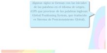 PRIMARIA 5º - LENGUA CASTELLANA Y LITERATURA - SIGLAS Y ACRÓNIMOS
