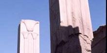 Pilares en el Templo de Amón, Karnak