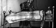 Maximiliano durmiendo