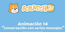 ScratchJr (Perfeccionamiento) 14-Conversación con varios mensajes