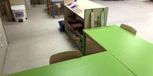 Nuevo mobiliario en Infantil 4 años