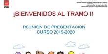 Tramo I 2019 - 2020. Presentación Familias