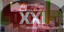 Inauguración del aula XXI ( Proyecto de innovación )