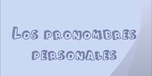 LOS PRONOMBRES PERSONALES, POR JUAN REGALON.