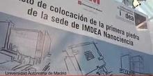 Primera piedra del primer laboratorio de España para la investigación de partículas