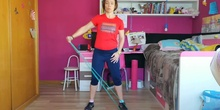 Lateral raise with resistance band