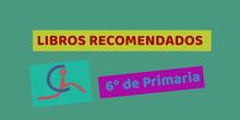 Recomendación libros 6º de Primaria