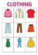 CLOTHES VOCABULARY GAME 1