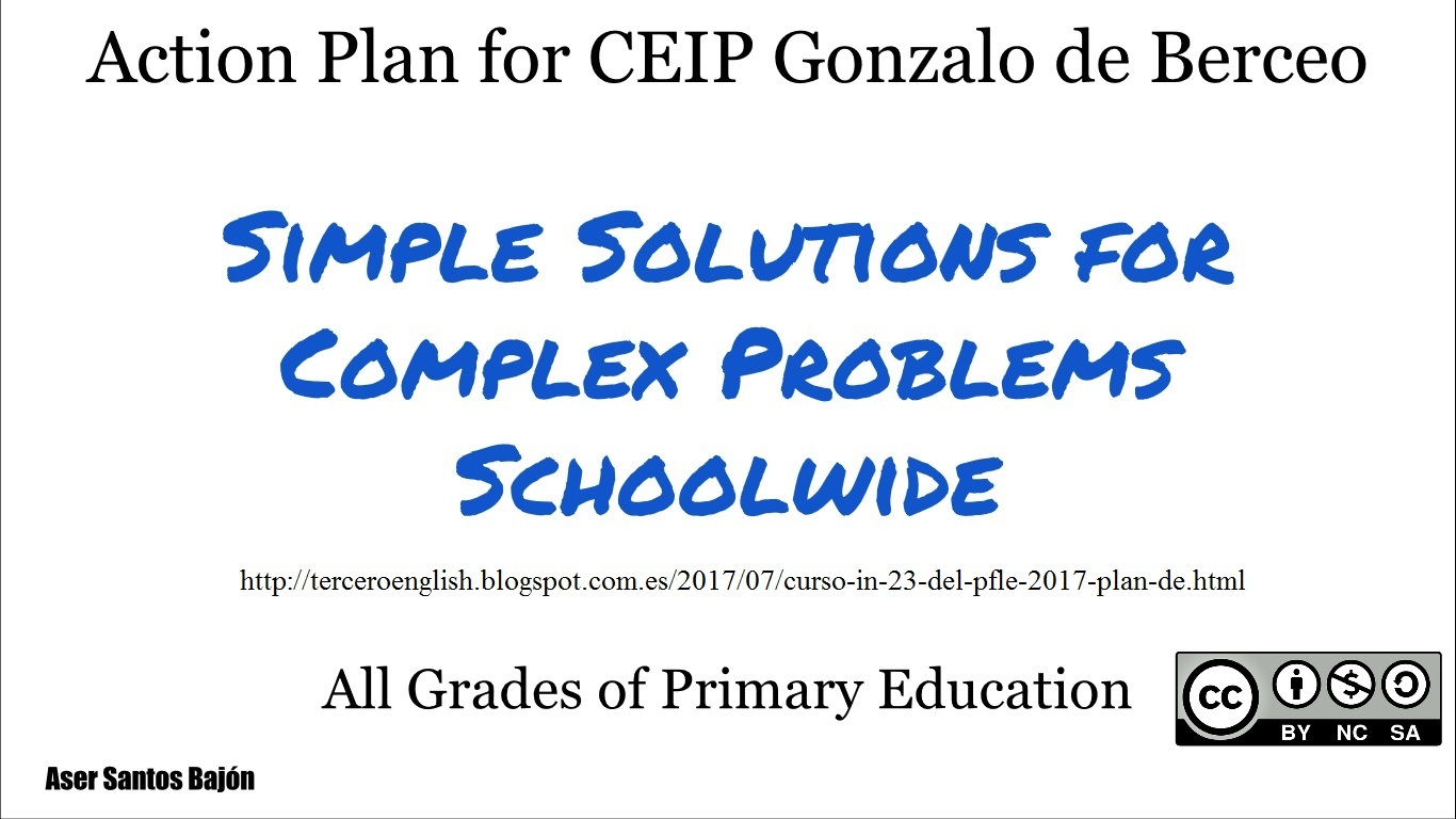 Action Plan for Gonzalo de Berceo School
