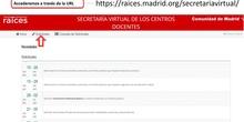 Acceso FP desde Secretaría Virtual