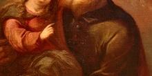San Joaquín con la Virgen Niña, Huesca