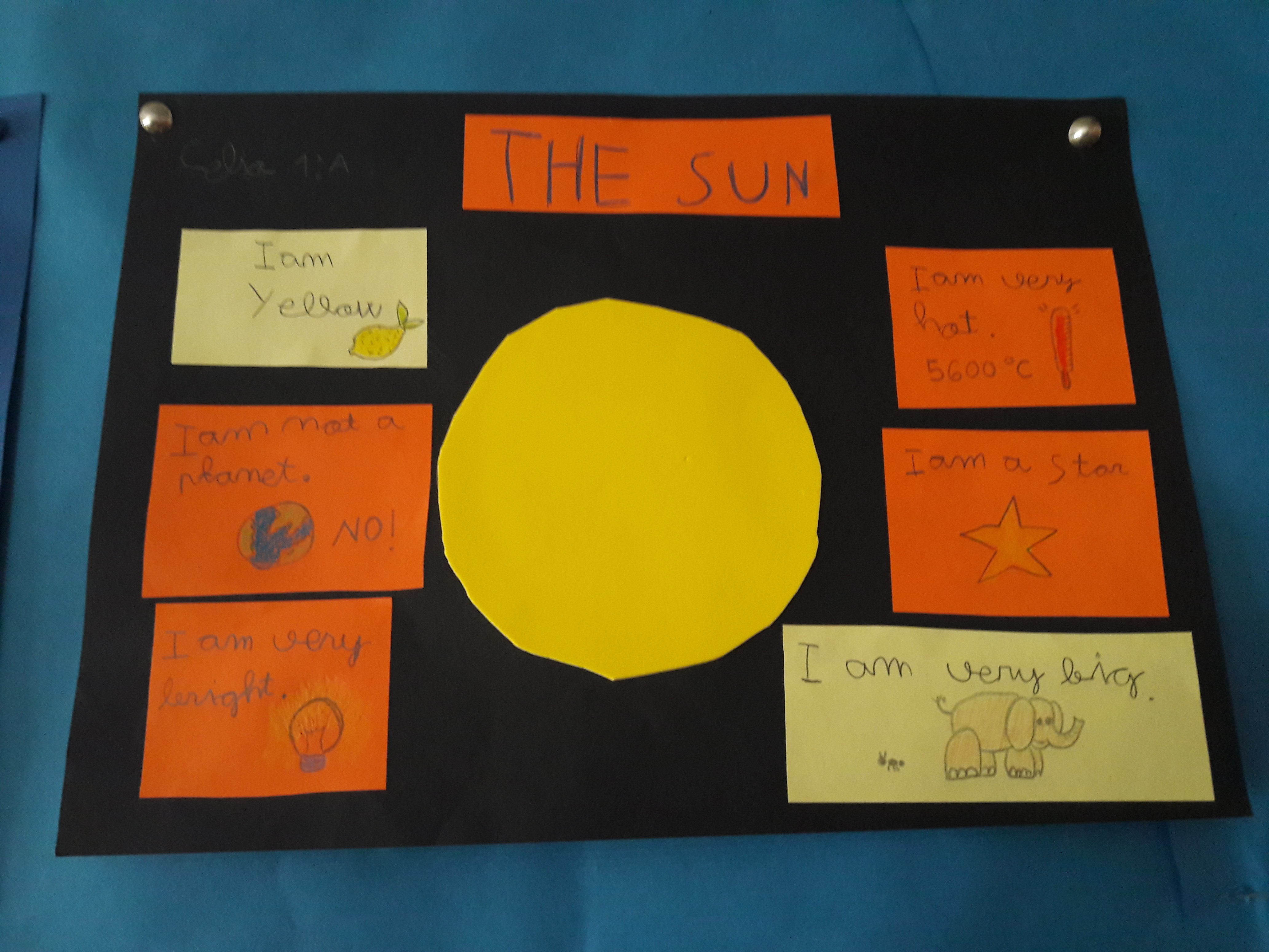Our Solar System is at School 1