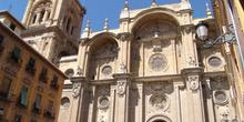 Fachada principal de la Catedral de Granada, Andalucía
