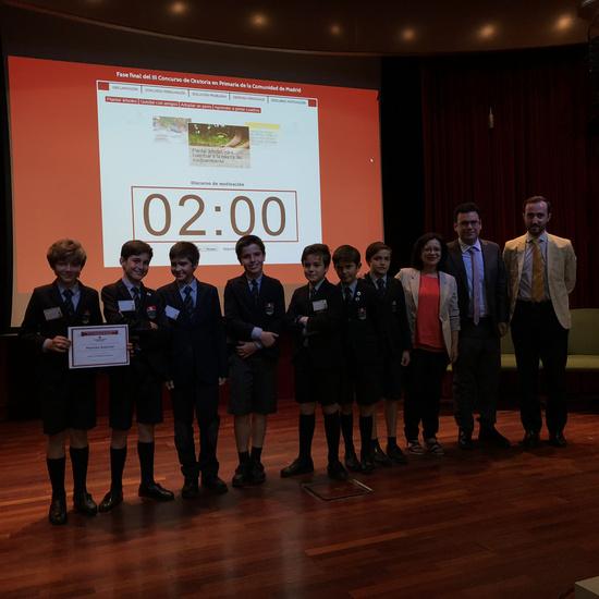 Fase final del III Concurso de Oratoria en Primaria de la Comunidad de Madrid 15