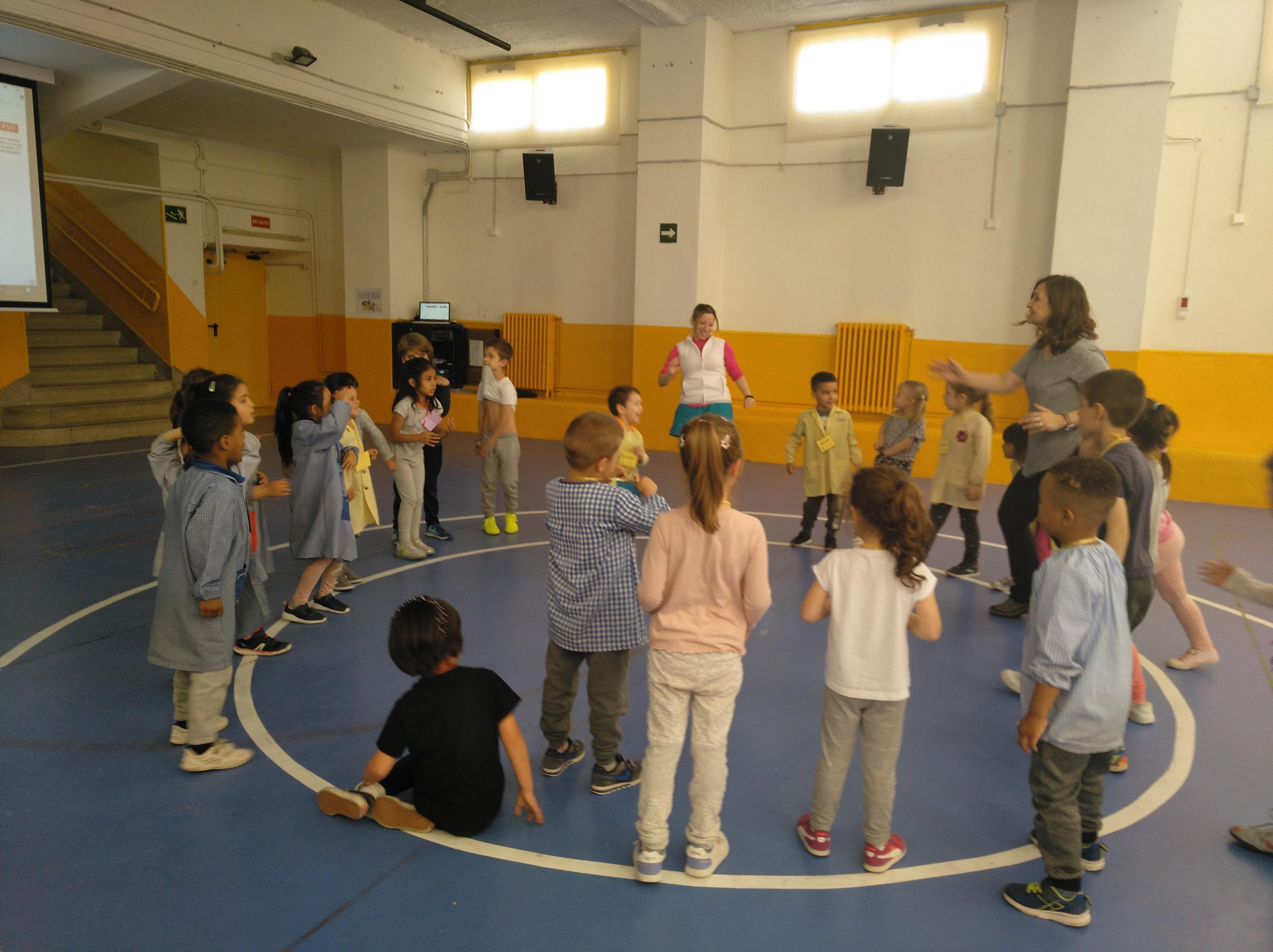 Jornadas Culturales. Musica y Movimiento. Infantil 2