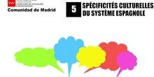5. Spécificités du système éducatif espagnol