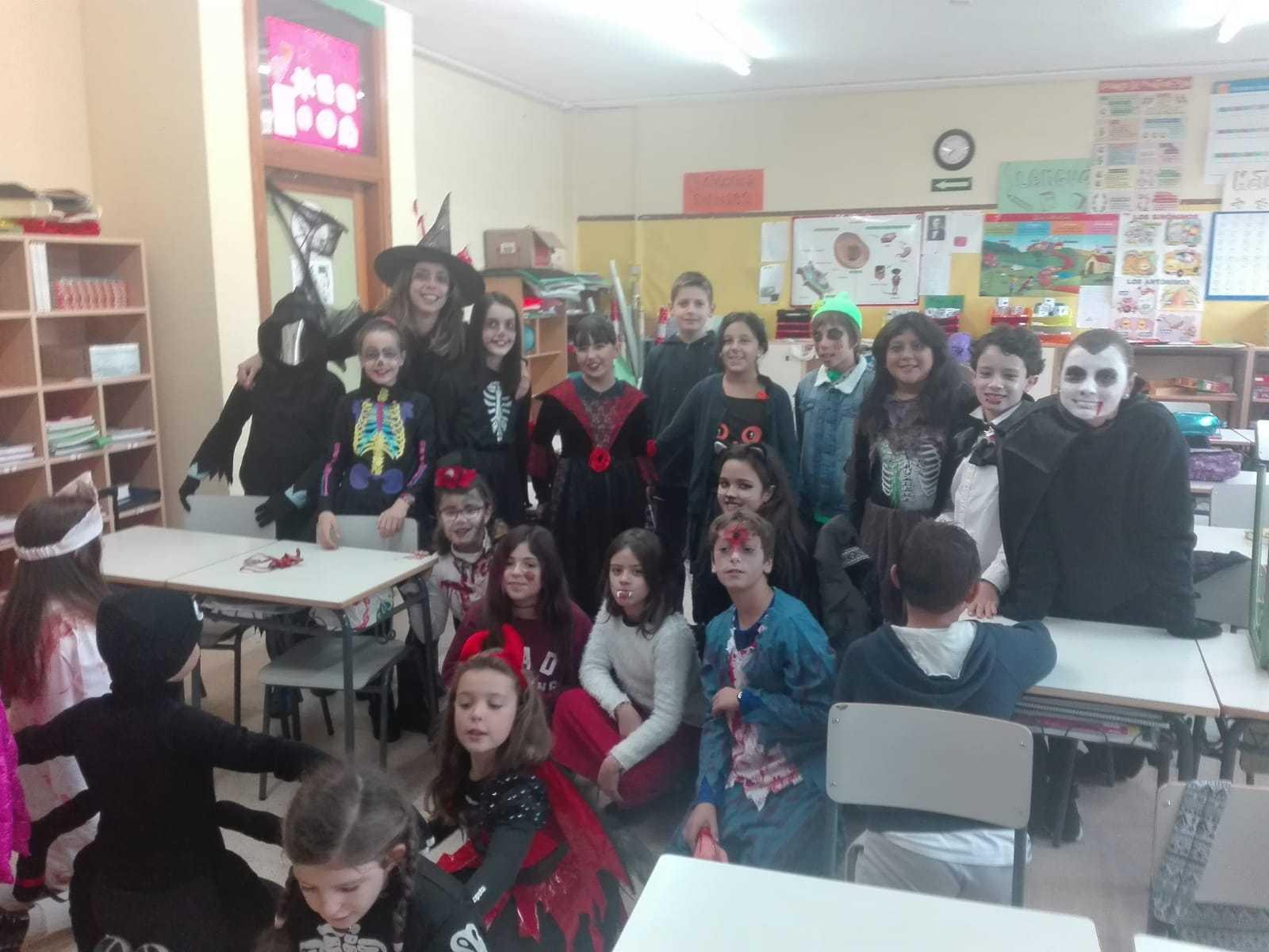 Quinto A celebra Halloween_CEIP Fernando de los Rios_Las Rozas 5