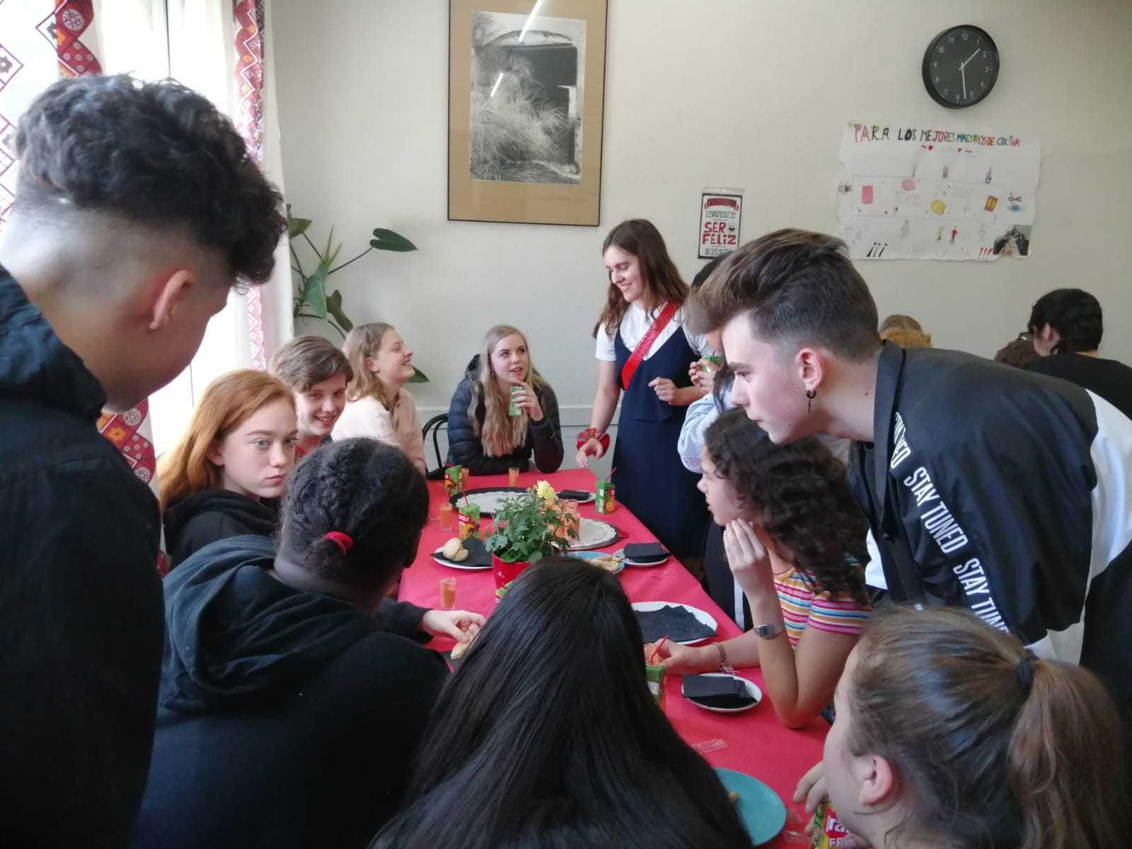 Visita de alumnos daneses al instituto 3