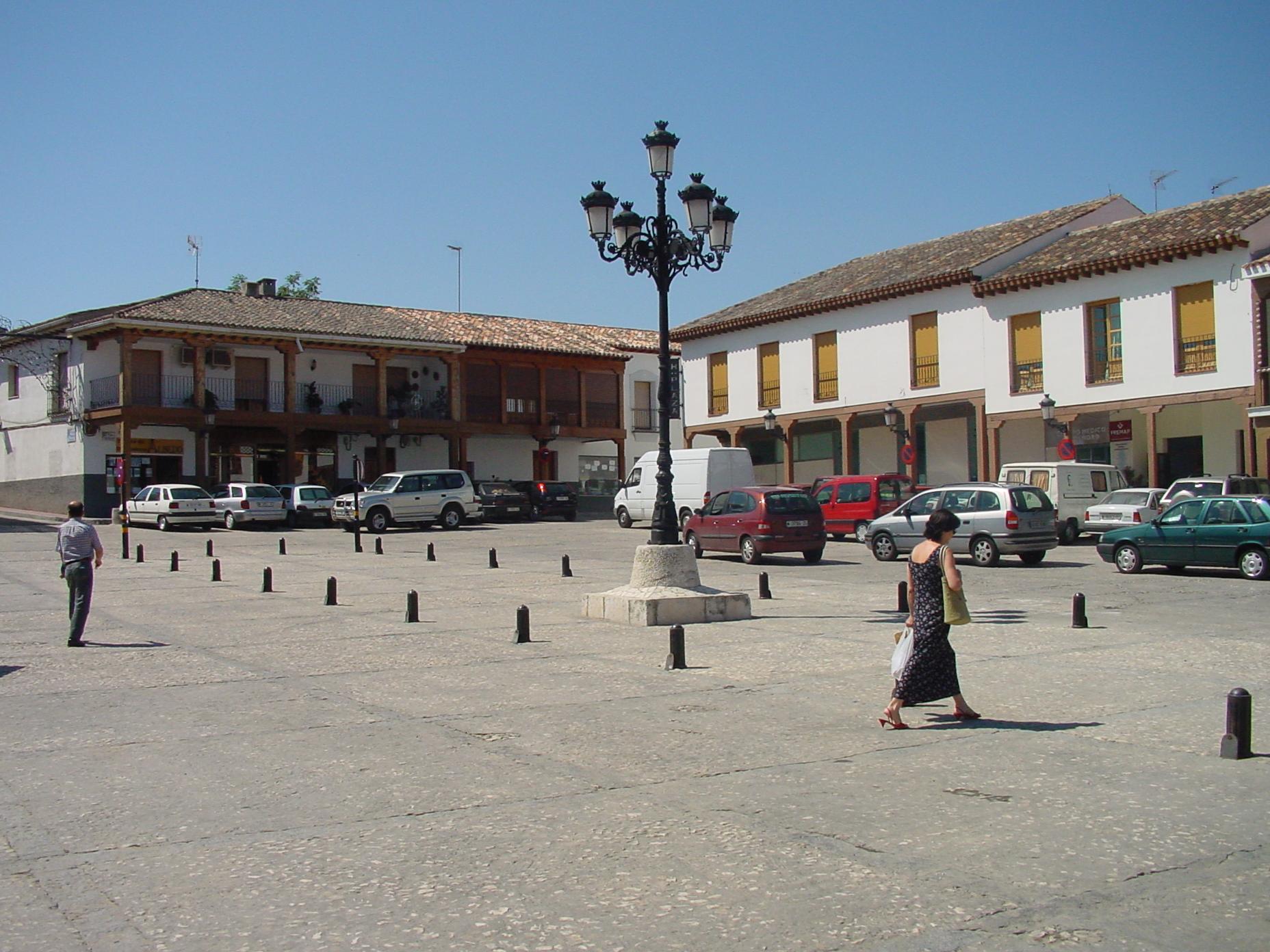Plaza en Valdemoro
