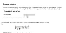 Música 3º