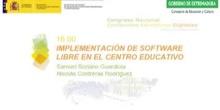 Implementación de software libre en un centro educativo