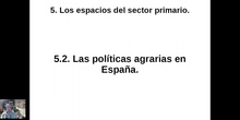 0502 Políticas agrarias en España