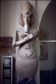 Estatua osírica de Amenofis IV
