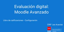 Libro de calificaciones - Configuración