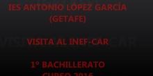 VISITA AL INEF DE MADRID Y CAR