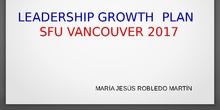 Leadership Growth plan 2017