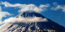 Cráter del volcan Ruapehu, Nueva Zelanda.