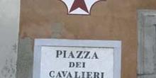 Detalle Plaza de los Caballeros, Pisa