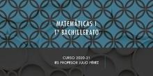 Matemáticas I. Bachillerato. IES Profesor Julio Pérez