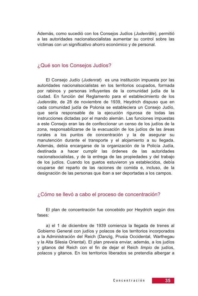Página 35 de la Guía Didáctica de la Shoá