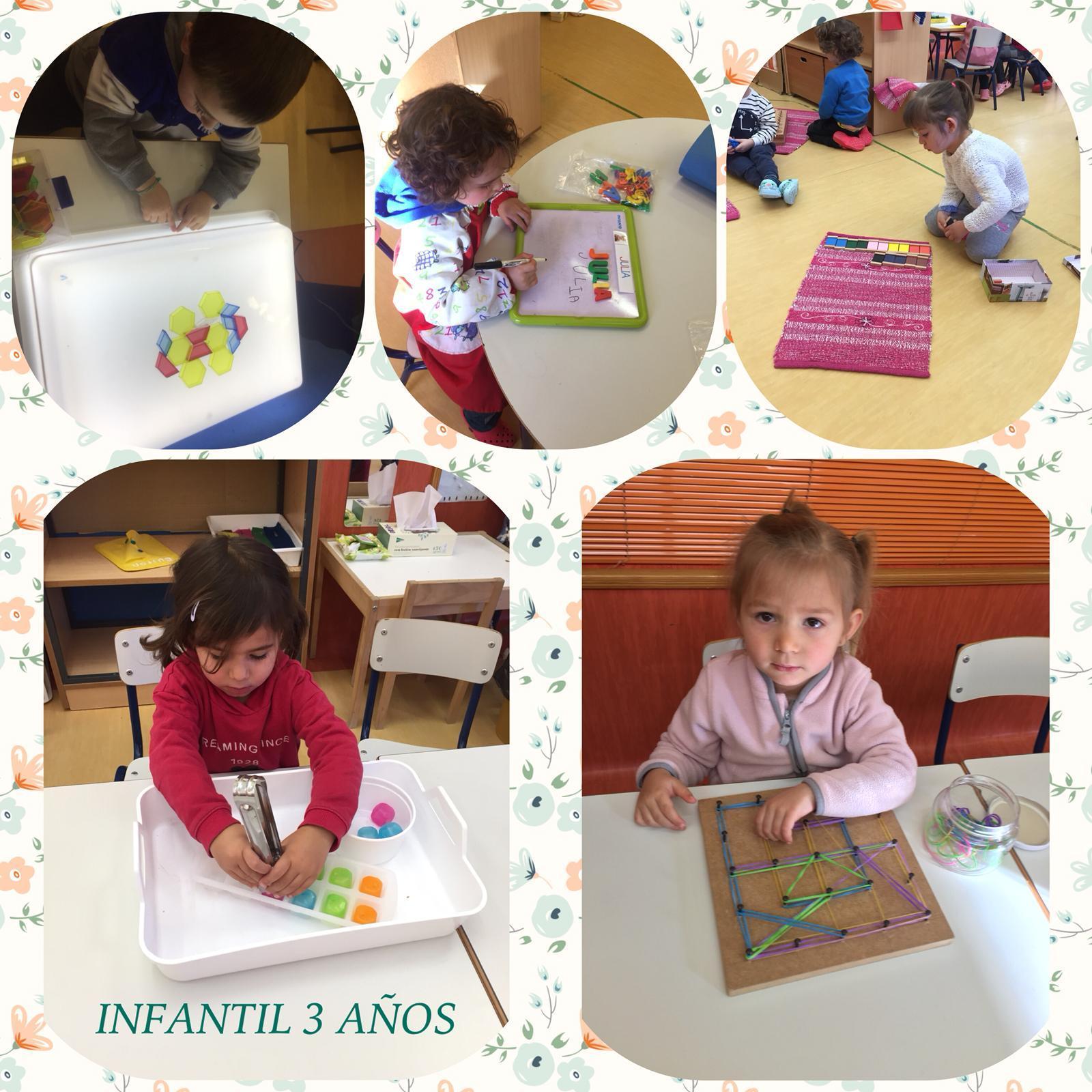 Montessori en E. Infantil