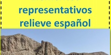 Principales elementos del relieve de España