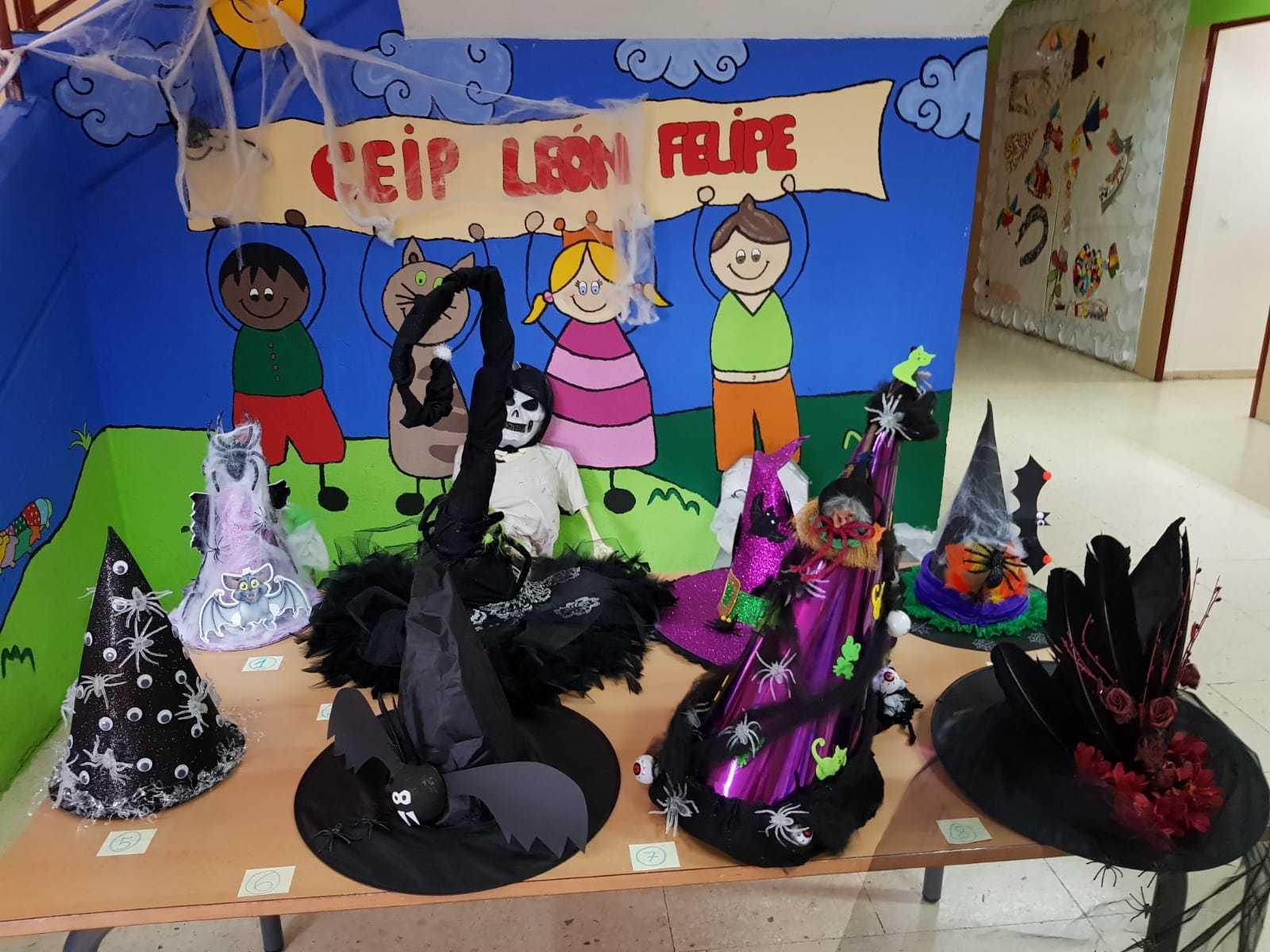 Curso decoración sombreros de bruja 5