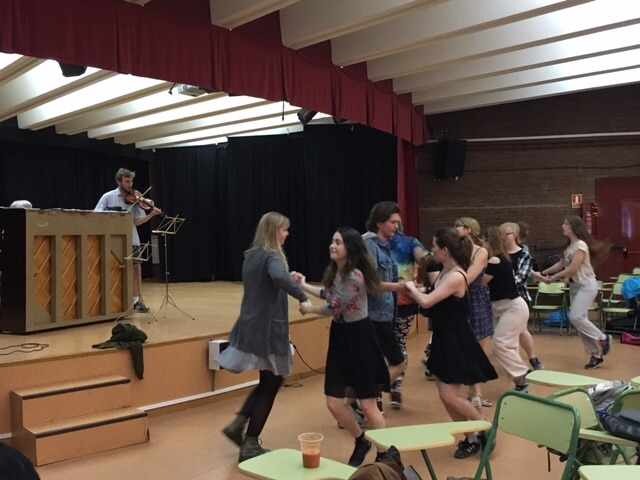 Visita al instituto de alumnos del instituto de secundaria 'Gimnasium Kalundborg' de Dinamarca 4